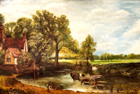 DO026 - Haywain (after John Constable 1837) 2 without frame (22x31 inches)